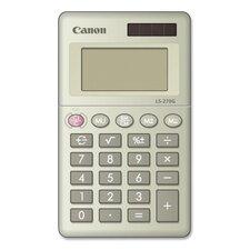 8-Digit Handheld Calculator, Dual PoWhiter (Set of 2)