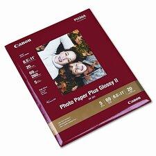 "8.5"" x 11"" Photo Paper Plus (20 Sheets/Pack)"