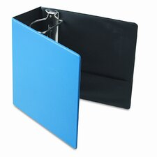 "Finger Slot Easyopen Slant D-Ring Binder, 5"" Capacity"