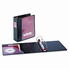 """Infinity Clearvue Locking Slant-D Ring Binder, 3"""" Capacity"""