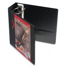 "Recycled Clearvue EasyOpen Vinyl D-Ring Presentation Binder, 4"" Cap"
