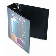 Clearvue Premium Slant-D Vinyl Presentation Binder, 3in Capacity