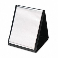 Showfile Vertical Display Easel, 20 Letter-Size Sleeves
