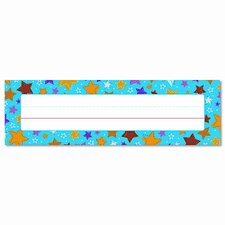 Stars Desk Nameplates Name Tag (Set of 2)