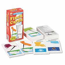 U.S. States and Capitals Flash Cards