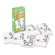 Multiplication Facts 0-12 Flash Cards