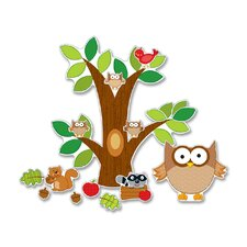 Owl Bulletin Board Cut Out Set