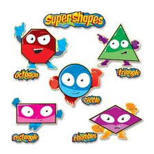 Super Shapes Bulletin Board Cut Out Set