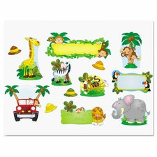 Jungle Safari Bulletin Board Cut Out Set