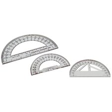 4 Protractor Plastic (Set of 16)