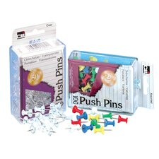 Push Pins Assorted (Set of 5)