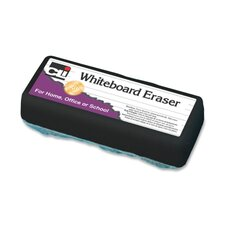 Whiteboard Eraser, Felt, White (Set of 5)