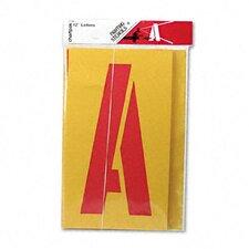 Chartpak Painting Stencil, A-Z Set (Set of 26)