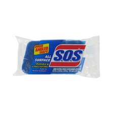 S.O.S. All Surface Scrubber Sponge (Set of 12)