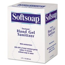 Softsoap Fragrance-Free Instant Hand Gel Sanitizer - 800 ml