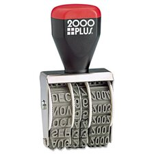 Cosco 2000 Plus® Traditional Date Stamp (Set of 2)
