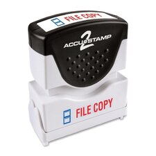 Shutter File Copy Stamp with Antimicrobial