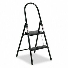 Louisville 2-Step Steel Platform Step Stool with 200 lb. Load Capacity
