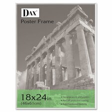 U-Channel Poster Frame with Plexiglas Window