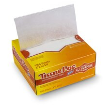 Tissue-Pac Lightweight Dry Waxed Interfolding Tissue in White