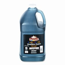 Ready-to-Use Tempera Paint, Black, One Gallon