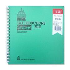 """Tax Deduction File, w/ Pockets, 11""""x9-3/4"""""""
