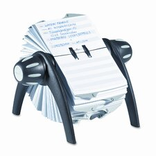 Telindex Rotary Address Card File Holds 500 Cards