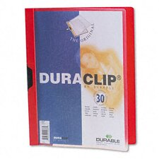 Vinyl DuraClip Report Cover (30 Pages) (Set of 3)