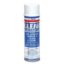 Aerosol Glass Cleaner, 20 oz, Residue-free (Set of 2)