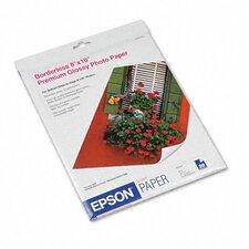 """S041465 Premium Photo High-Gloss Paper, 8"""" x 10""""/Pack"""