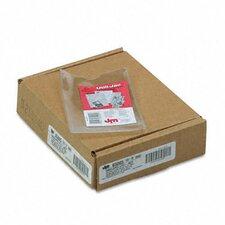 Oxford Utili-Jacs Heavy-Duty Clear Plastic Envelopes, 3 X 5, 50/Box