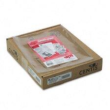Oxford Utili-Jacs Heavy-Duty Clear Plastic Envelopes, Letter, 50/Box