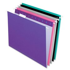 Reinforced Hanging Folders, Letter, 25/Box