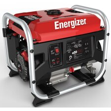 Energizer Portable 1,300 Watt Gasoline Generator with Manual Recoil Start
