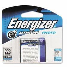 e² Lithium Photo Battery, 223, 6V
