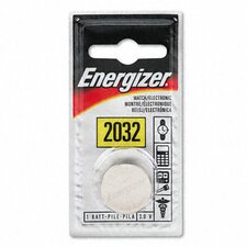 Watch/Electronic/Specialty Battery, 2032, 3 Volt (Set of 4)