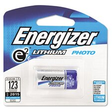 e² Lithium Photo Battery, 123, 3V