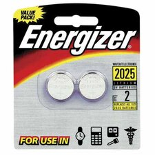 Lithium Batteries, 3.0 Volt, For CR2025/DL2025/LF1/3V (Set of 2)