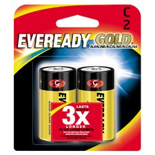 C Cell Alkaline Battery (2 Pack)