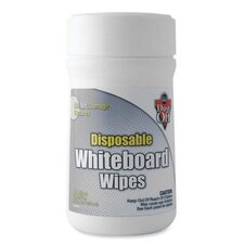 Whiteboard Wipes, Disposable, 80 Wipes
