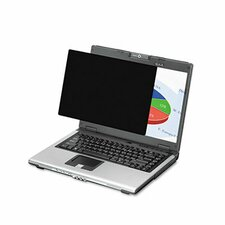 """Wide Black-Out Privacy Frameless Filter for 14.1"""" LCD/Notebook"""