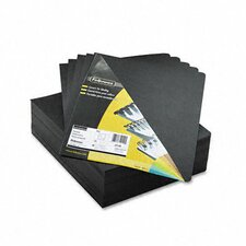 Executive Presentation Binding System Cover, 8 3/4 x 11 1/4, Black, 200 per Pack