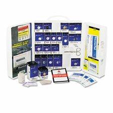 Large First Aid Kit, 209 Pieces, Osha Compliant, Plastic Case