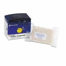 Triangular Sling/Bandage, 2 Safety Pins/1 Bandage/Box (Set of 2)