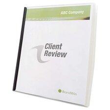 GBC Slide 'N Bind Report Cover, 10/Box