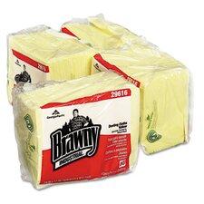 Brawny Industrial Dusting Cloths Quarterfold, 50/Pack, 4/Carton