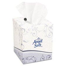 Angel Soft Ps Premium Facial 2-Ply Tissue - 96 Sheets per Box / 36 Boxes per Carton