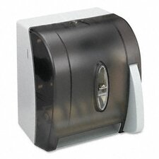 Hygienic Push-Paddle Roll Towel Dispenser