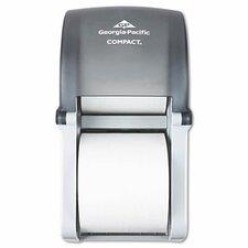 Compact Vertical Double Roll Coreless Tissue Dispenser