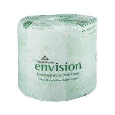 Envision Embossed 1-Ply Bathroom Tissue